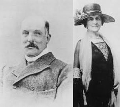 Henry Ernest and Eleanor Wodehouse