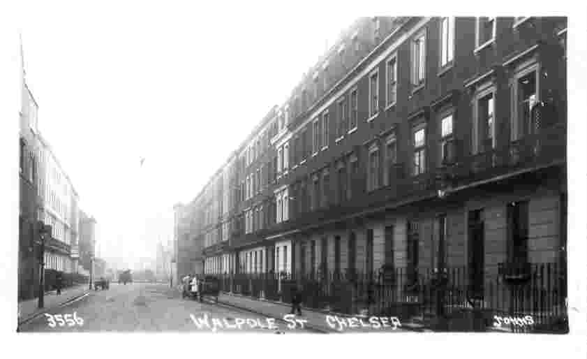 Walpole Street, Chelsea, Wodehouse address